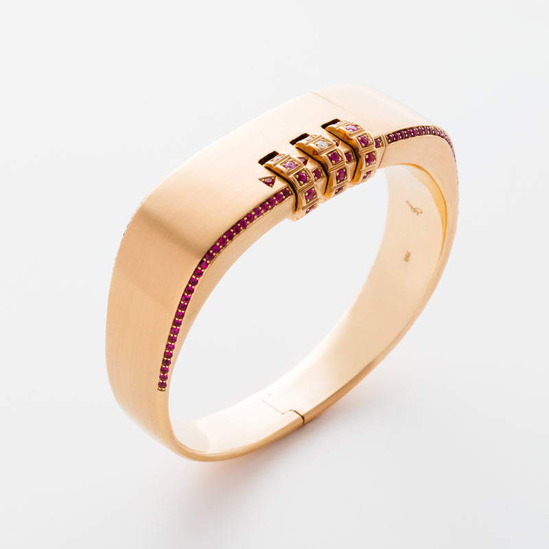 CODE ROSE GOLD RUBY PAVE