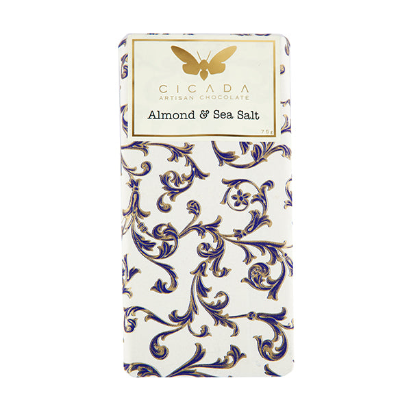 Cicada - Almond & Sea Salt Chocolate Bar