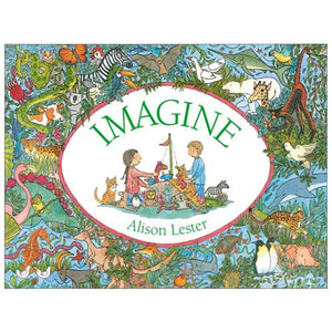 Books - Imagine Board Book
