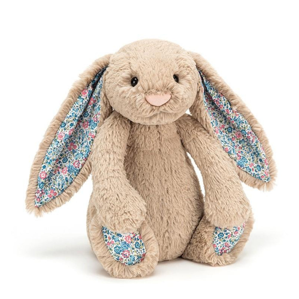 Jellycat - Blossom Bunny, Beige Blue
