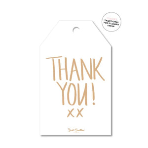 Gift Tag - Thank You