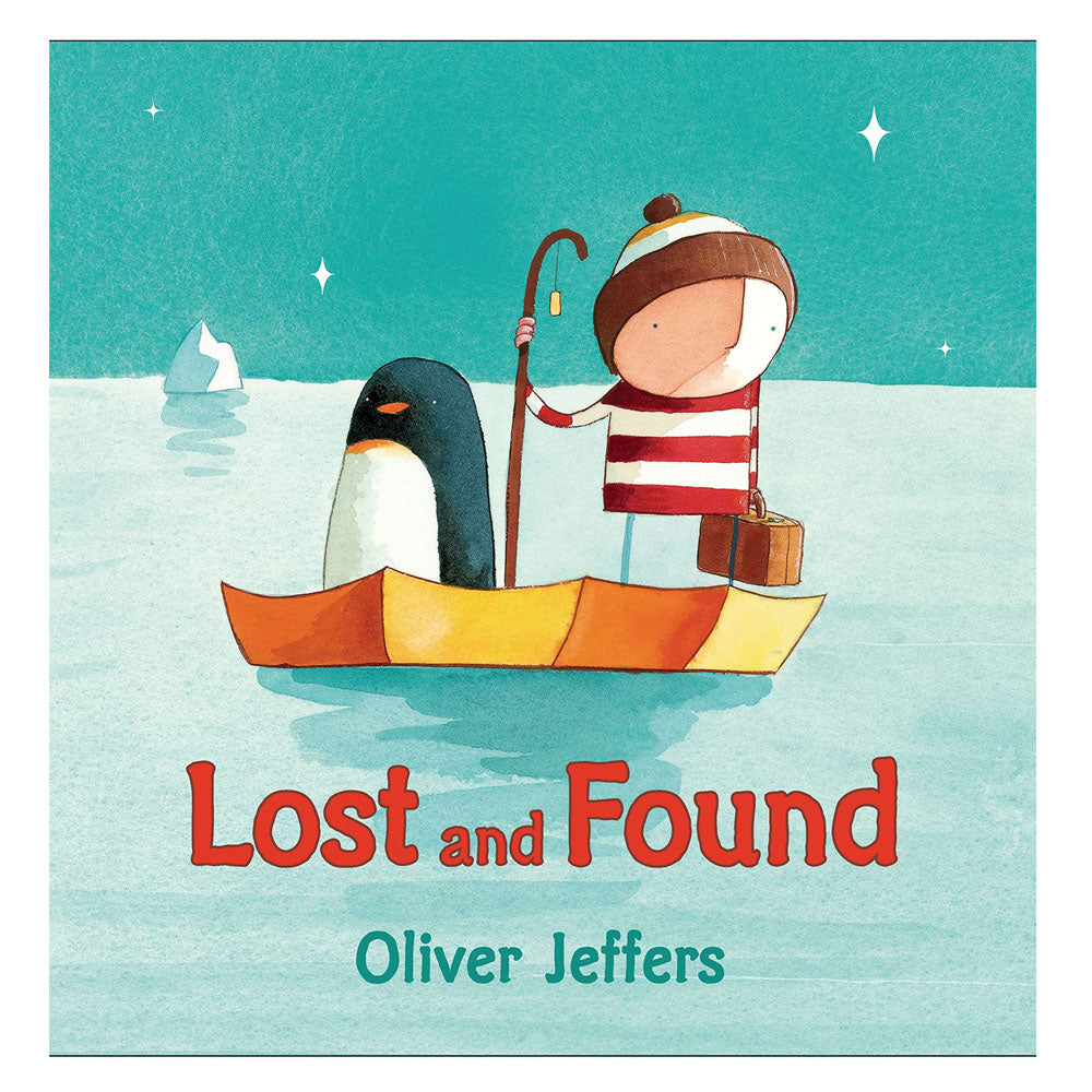 Lost and Found Board Book