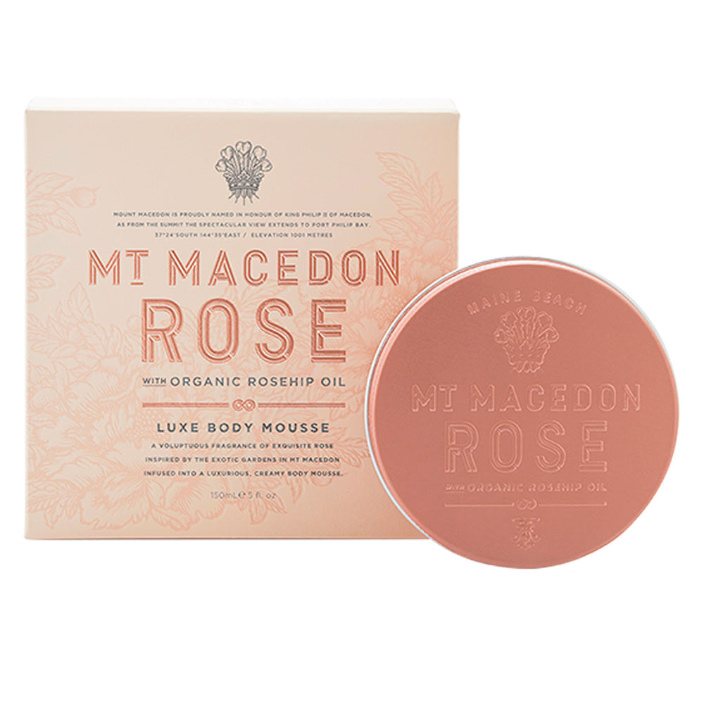 Maine Beach - Mt Macedon Rose Body Mousse
