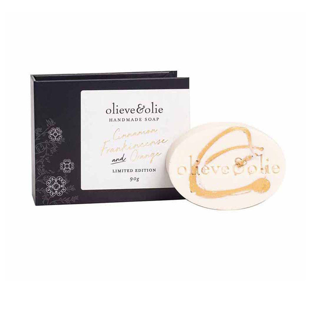 Olieve & Olie - Gold Swirl, Limited Edition Soap