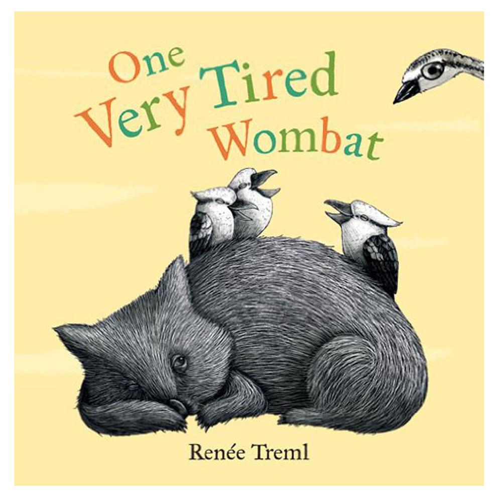 Books - One Very Tired Wombat