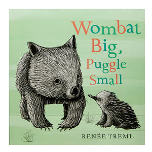 Books - Wombat Big, Puggle Small