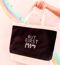 Load image into Gallery viewer, BUT FIRST, FIZZIES Tote Bag