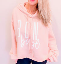Load image into Gallery viewer, BON BABE Cropped Hoodie