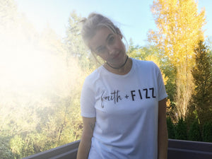 FAITH & FIZZ Slouchy Tee