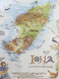 Map of Iona Print