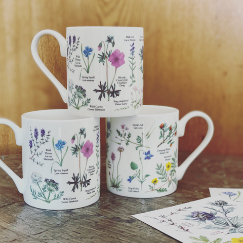 Flowers of Iona Mug