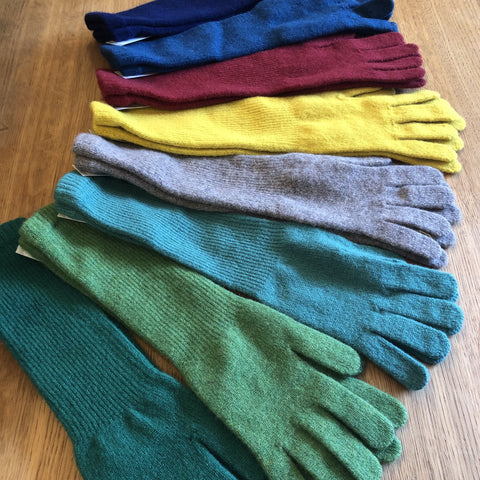 Lambswool Long Gloves