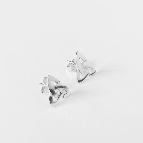Eternity Knot Studs