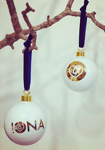 Iona Bauble - Gold
