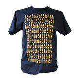 Bottled Whisky T-Shirt - Navy