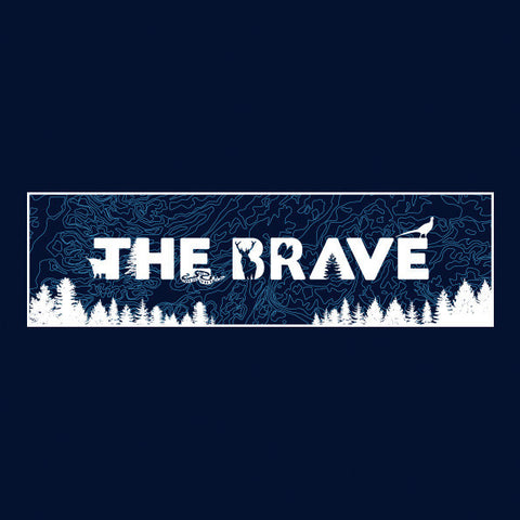 The Brave T-Shirt - Navy