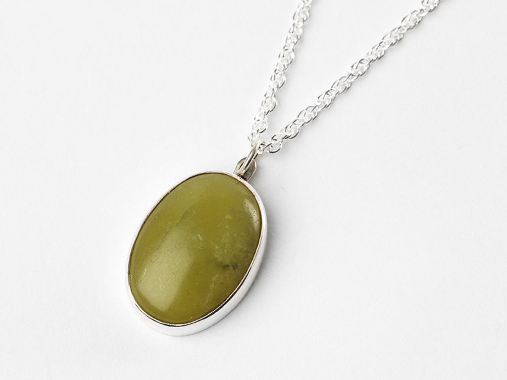 long by little necklace box stone product low elefaschi the bauble green