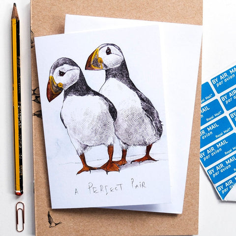 Perfect Pair Puffins