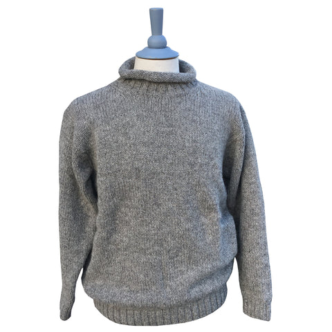 Iona Wool Fisherman's Rollneck