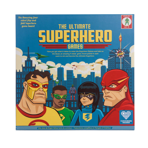 The Ultimate Superhero Games