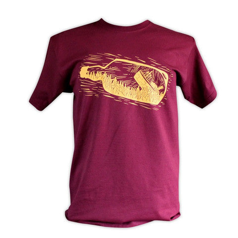 Whisky Galore T-Shirt - Burgundy