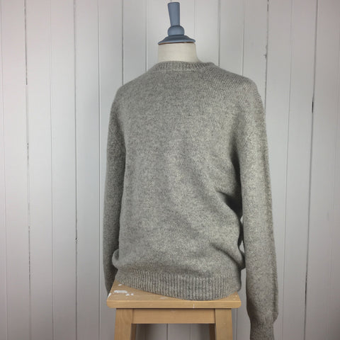 Iona Wool Pullover - Crofters Crew Neck IW.2.14