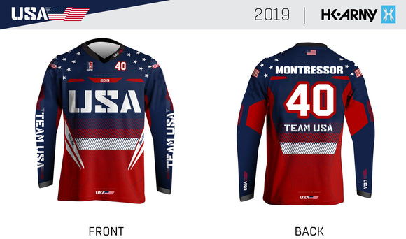 Team USA Jersey - Tim Montressor #40