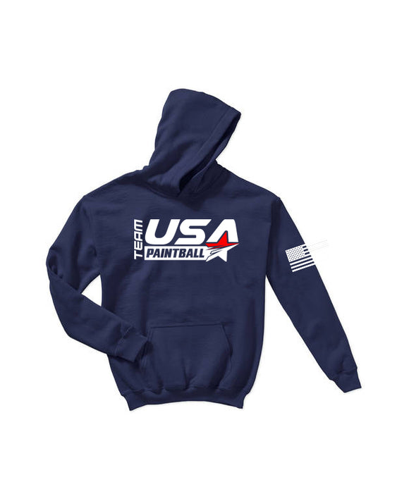Team USA Paintball Hoodie - Navy