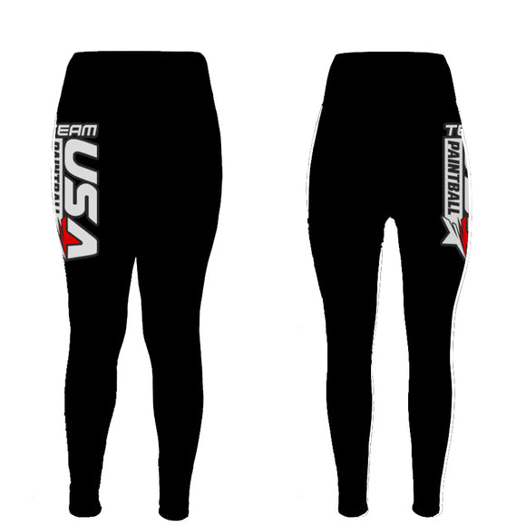 Team USA Performance Leggings - Black