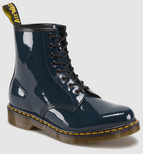 1460 Patent Leather Boot (navy)