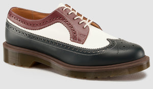 3989 BWC Brogue - Made in England (brown/navy)