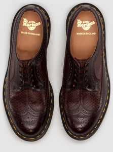 3989 Snake Brogue - Made in England (burgundy)