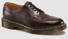 Load image into Gallery viewer, 3989 Snake Brogue - Made in England (burgundy)