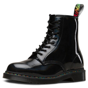 1460 Rainbow Patent (black)