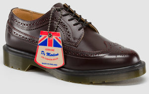 3989 Brogue Merlot - Made in England (burgundy)