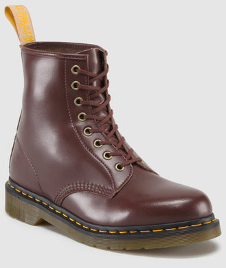 1460 Vegan Boot Rage Felix Rub Off (cherry)