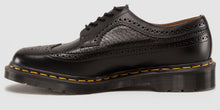 Load image into Gallery viewer, 3989 Snake Brogue - Made in England (blk)