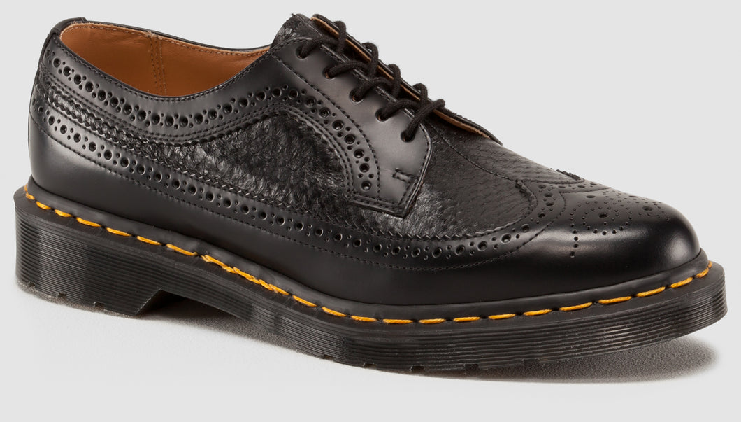 3989 Snake Brogue - Made in England (blk)