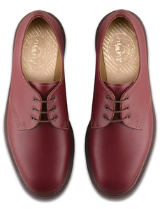 Three Eye Steed Hall Top - Made in England (oxblood)