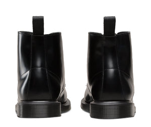 Emmeline Boot Polished Smoot (blk)