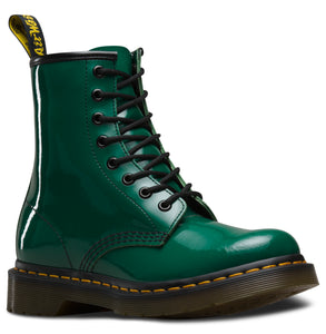 1460 PATENT LEATHER BOOT (forest)