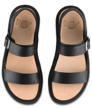 Load image into Gallery viewer, KENNET BLACK SEMI CHROMO SANDAL