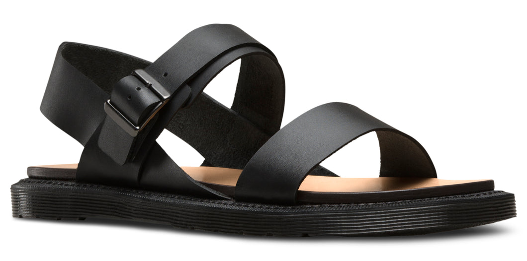 KENNET BLACK SEMI CHROMO SANDAL