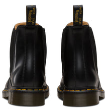 Load image into Gallery viewer, 2976 YELLOW STITCH SMOOTH CHELSEA BOOT (blk)