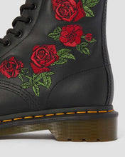 Load image into Gallery viewer, 1460 VONDA FLORAL LEATHER LACE UP BOOTS
