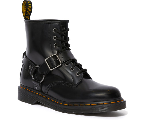 1460 HARNESS LEATHER LACE UP BOOTS