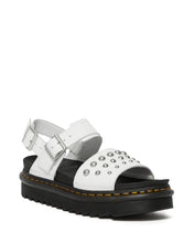 Load image into Gallery viewer, VOSS LEATHER STUDDED SANDALS