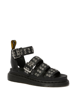 CLARISSA ll LEATHER BUCKLE SANDAL