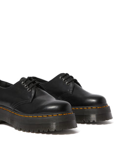 1461 Smooth Leather Platform Quad