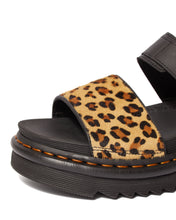 Load image into Gallery viewer, VOSS Animal Print Leather Strap Sandals (leopard)